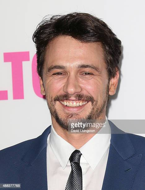 Actor James Franco attends the premiere of Tribeca Film's 'Palo Alto' at the Directors Guild of America on May 5 2014 in Los Angeles California