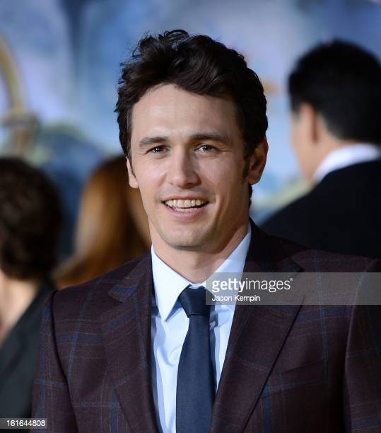 Actor James Franco attends the premiere Of Walt Disney Pictures' Oz The Great And Powerful at the El Capitan Theatre on February 13 2013 in Hollywood...