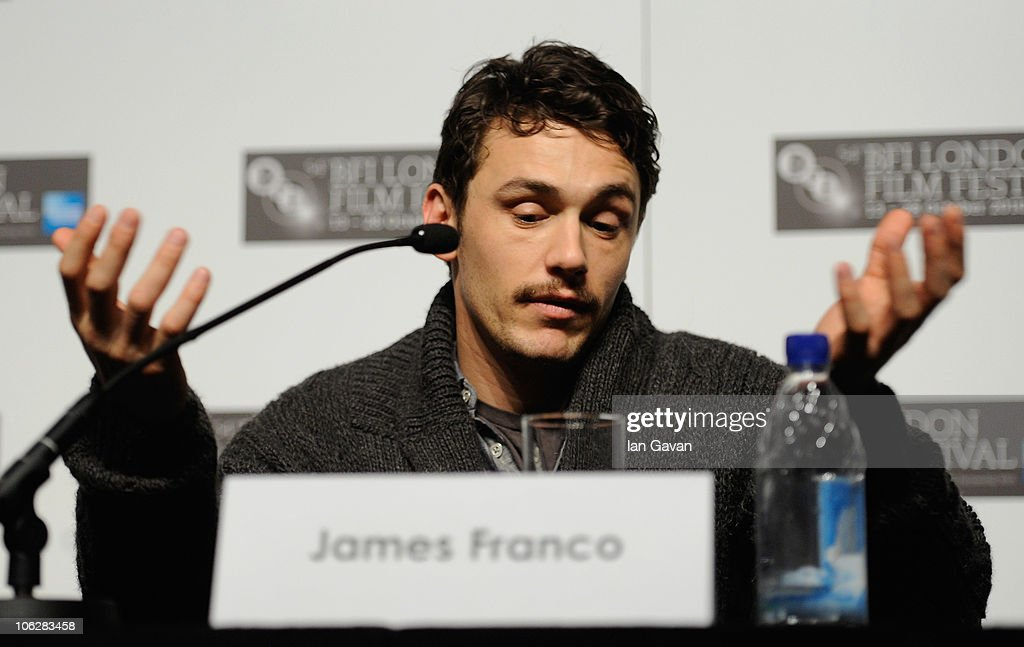 127 Hours - Press Conference: 54th BFI London Film Festival : News Photo