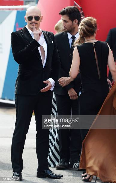Actor James Franco attends 'The Sound And The Fury' Premiere during the 71st Venice Film Festival at Sala Grande on September 5 2014 in Venice Italy
