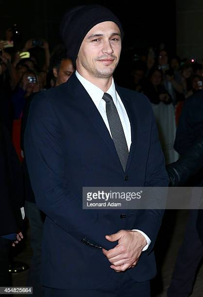 Actor James Franco attends the The Sound And The Fury Premiere during the 2014 Toronto International Film Festival at Ryerson Theatre on September 6...
