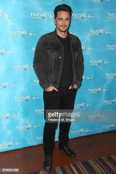 Actor James Franco attends the Vulture Festival Los Angeles at the Hollywood Roosevelt Hotel on November 18 2017 in Hollywood California
