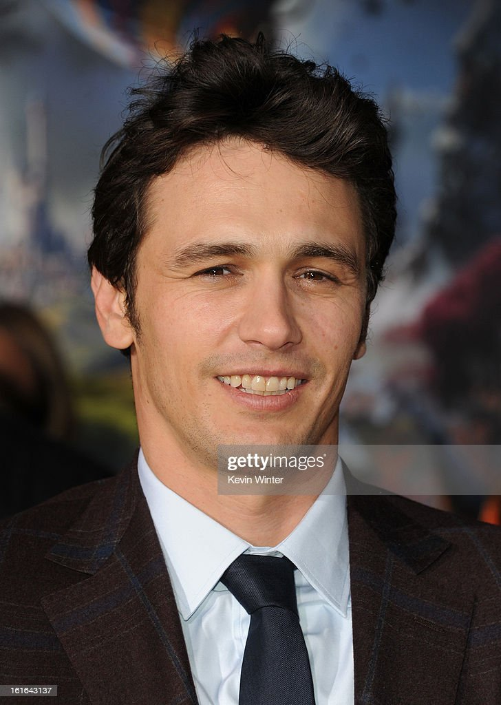 Actor James Franco attends the world premiere of Walt Disney Pictures' 'Oz The Great And Powerful' at the El Capitan Theatre on February 13, 2013 in Hollywood, California.