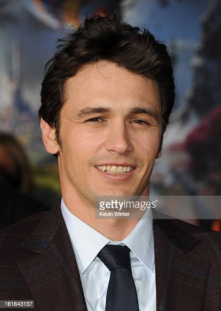 Actor James Franco attends the world premiere of Walt Disney Pictures' Oz The Great And Powerful at the El Capitan Theatre on February 13 2013 in...