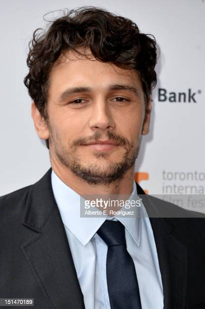 Actor James Franco attends theSpring Breakers premiere during the 2012 Toronto International Film Festival at Ryerson Theatre on September 7 2012 in...