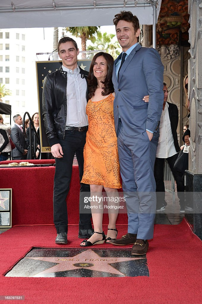 James Franco Honored With Star On The Hollywood Walk Of Fame : News Photo