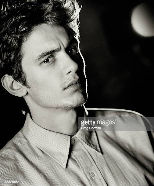 Actor James Franco is photographed for Interview Magazine on January 1 2002 in Los Angeles California