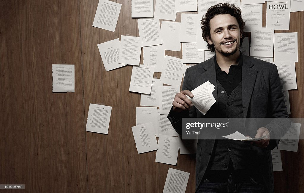 James Franco, The Advocate, October 1, 2010 : News Photo