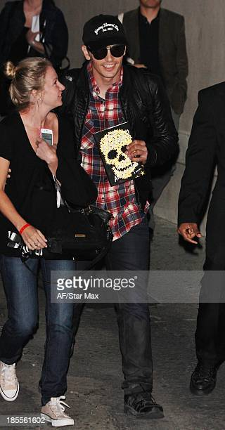 Actor James Franco is seen on October 21 2013 in Los Angeles California