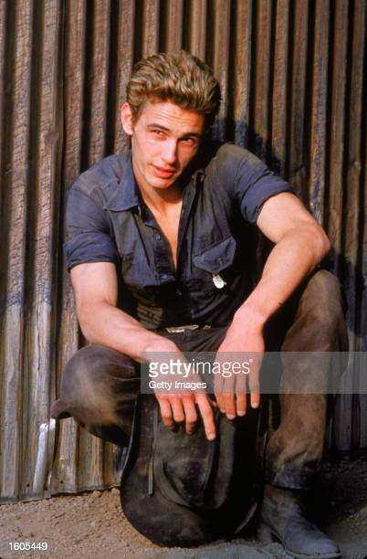 Actor James Franco poses for a portrait for the televised movie James Dean
