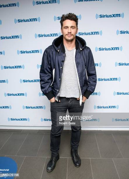Actor James Franco visits the SiriusXM Studios on November 27 2017 in New York City