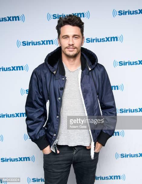 Actor James Franco visits the SiriusXM Studios on November 27 2017 in New York City