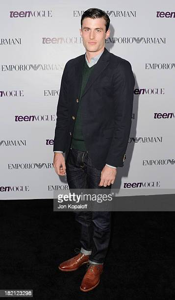 Actor James Frecheville arrives at the 2013 Teen Vogue Young Hollywood Awards on September 27 2013 in Los Angeles California