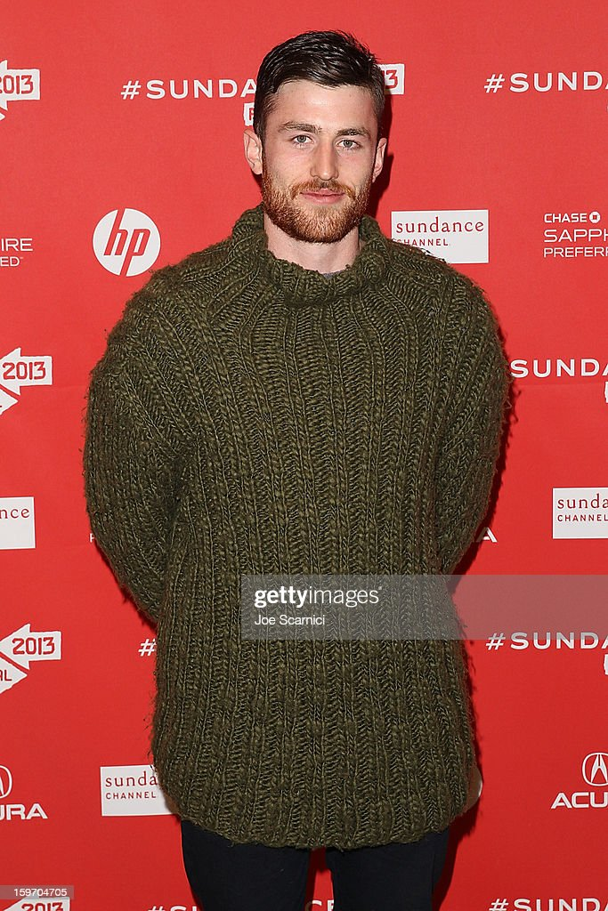 Actor James Frecheville arrives at the 'Two Mothers' Premiere at the 2013 Sundance Film Festival at Eccles Center Theatre on January 18, 2013 in Park City, Utah.