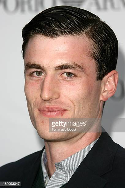 Actor James Frecheville attends the 11th Annual Teen Vogue Young Hollywood Party With Emporio Armani on September 27 2013 in Los Angeles California