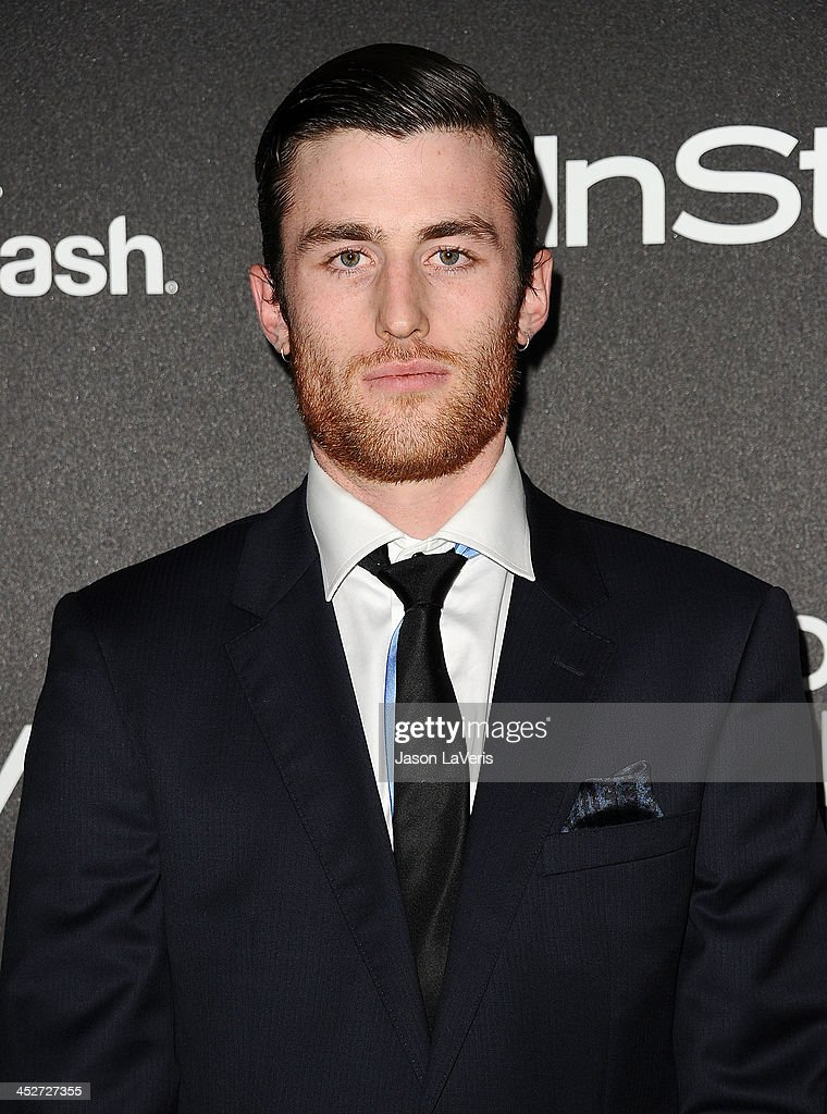 Actor James Frecheville attends the Miss Golden Globe event at Fig & Olive Melrose Place on November 21, 2013 in West Hollywood, California.