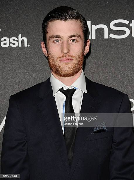 Actor James Frecheville attends the Miss Golden Globe event at Fig Olive Melrose Place on November 21 2013 in West Hollywood California