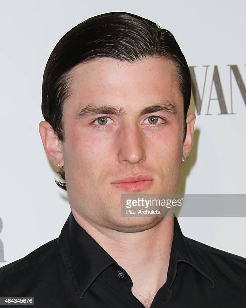 Actor James Frecheville attends the Vanity Fair and Fiat's toast to 'Young Hollywood' in support of Terrence Higgins Trust at No Vacancy on February...