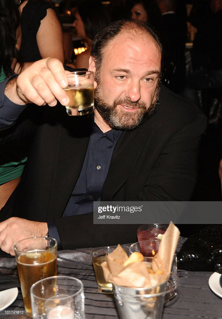 Actor James Gandolfini attends Spike TV's 4th Annual 'Guys Choice Awards' held at Sony Studios on June 5, 2010 in Los Angeles, California.