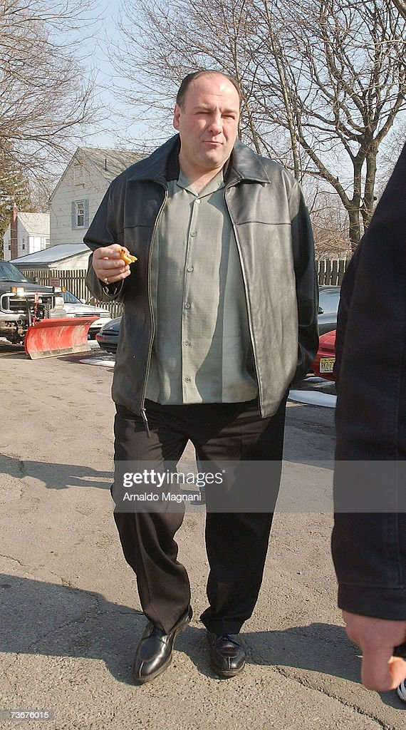 The Sopranos Final Episode Filming In New Jersey : News Photo
