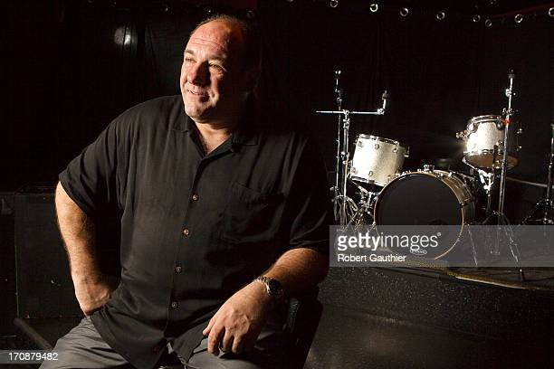 Actor James Gandolfini is photographed for Los Angeles Times on November 30 2012 in Hollywood California PUBLISHED IMAGE CREDIT MUST READ Robert...