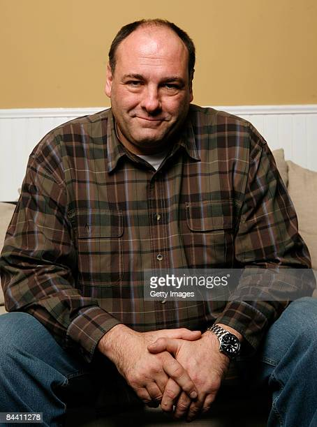 Actor James Gandolfini of the film 'In The Loop' poses for a portrait at The Lift during the 2009 Sundance Film Festival on January 22 2009 in Park...