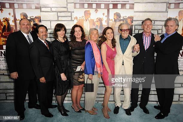 Actor James Gandolfini President HBO Films Len Amato Michelle Loud Delilah Loud Pat Loud actress Diane Lane Bill Loud Kevin Loud and Grant Loud...