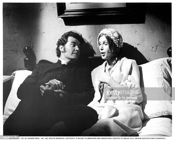 Actor James Garner and actress Susan Clark in a scene from the movie Skin Game circa 1971