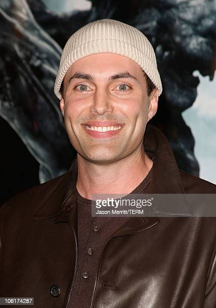 Actor James Haven arrives at the Los Angeles Premiere of Beowulf at Westwood Village on November 5 2007 in Weswood California