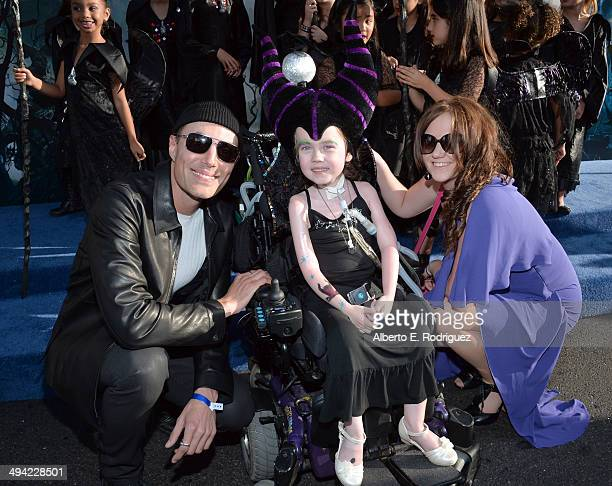 Actor James Haven attends the World Premiere of Disney's Maleficent starring Angelina Jolie at the El Capitan Theatre on May 28 2014 in Hollywood...