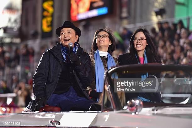 Actor James Hong attends 2015 Hollywood Christmas Parade on November 29 2015 in Hollywood California