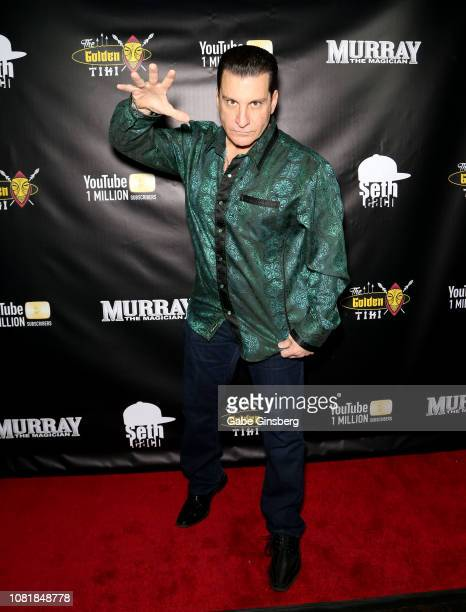 Actor James J Zito III attends Murray SawChuck's celebration of 1 Million YouTube subscribers at The Golden Tiki on December 12 2018 in Las Vegas...