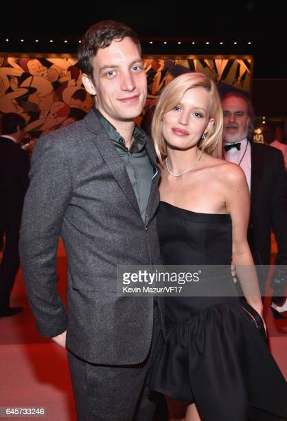 Actor James Jagger and Model Georgia May Jagger attend the 2017 Vanity Fair Oscar Party hosted by Graydon Carter at Wallis Annenberg Center for the...