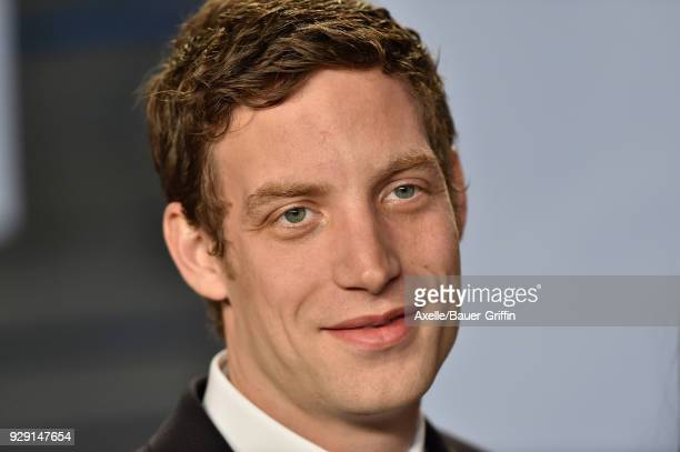 Actor James Jagger attends the 2018 Vanity Fair Oscar Party hosted by Radhika Jones at Wallis Annenberg Center for the Performing Arts on March 4...