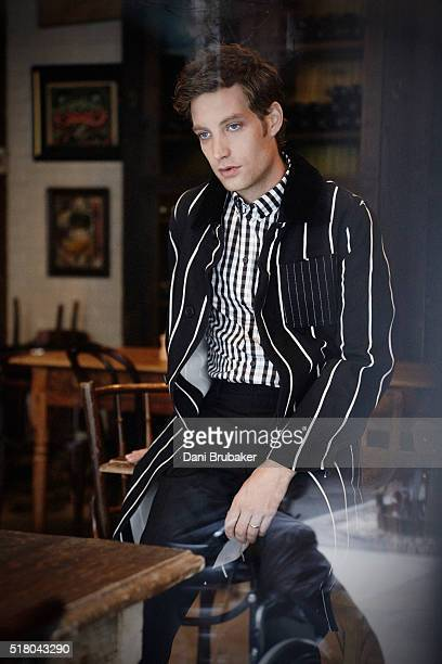 Actor James Jagger son of Mick Jagger and Jerry Hall is photographed for Flaunt Magazine on January 15 2016 in El Segundo California