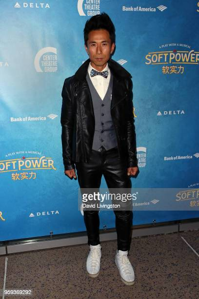 Actor James Kyson attends the opening night of 'Soft Power' presented by the Center Theatre Group at the Ahmanson Theatre on May 16 2018 in Los...