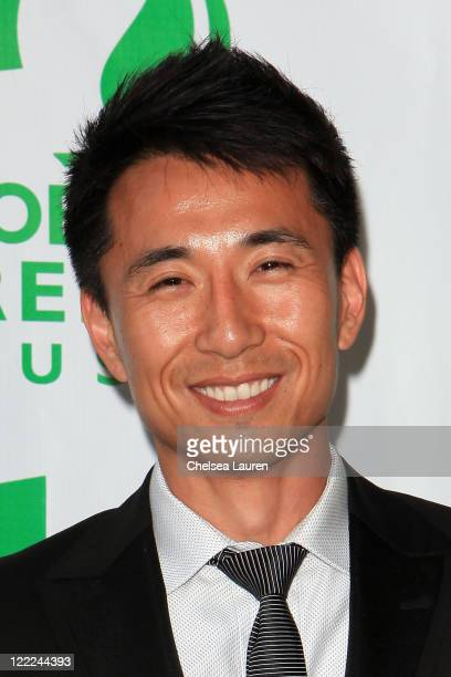 Actor James KysonLee arrives at Global Green USA's 14th Annual Millennium Awards at Fairmont Miramar Hotel on June 12 2010 in Santa Monica California