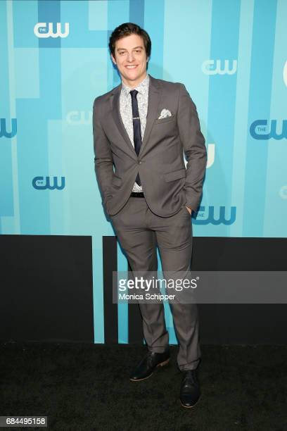 Actor James Mackay attends the 2017 CW Upfront on May 18 2017 in New York City
