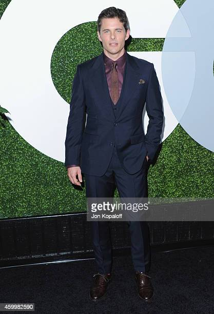 Actor James Marsden arrives at the 2014 GQ Men Of The Year Party at Chateau Marmont on December 4 2014 in Los Angeles California