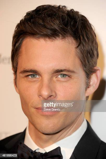 Actor James Marsden arrives at The Art of Elysium's 7th Annual HEAVEN Gala presented by MercedesBenz at Skirball Cultural Center on January 11 2014...