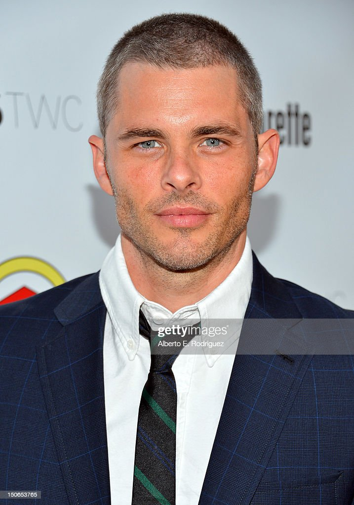 Actor James Marsden arrives at the premiere of RADiUS-TWC's 'Bachelorette' at ArcLight Cinemas on August 23, 2012 in Hollywood, California.