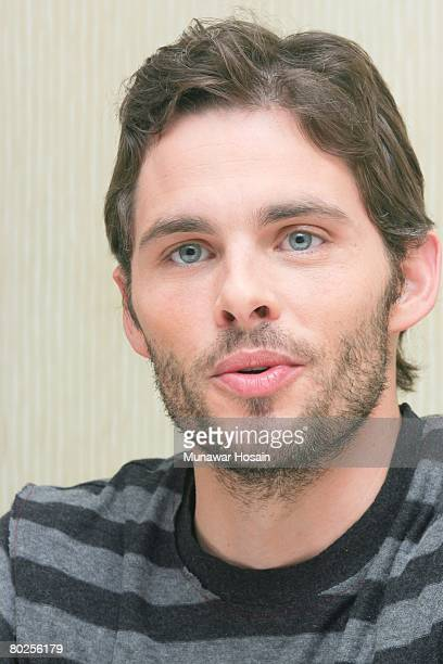 Actor James Marsden at the Beverly Hilton Hotel in Beverly Hills California on November 4th 2007 Reproduction by American tabloids is absolutely...