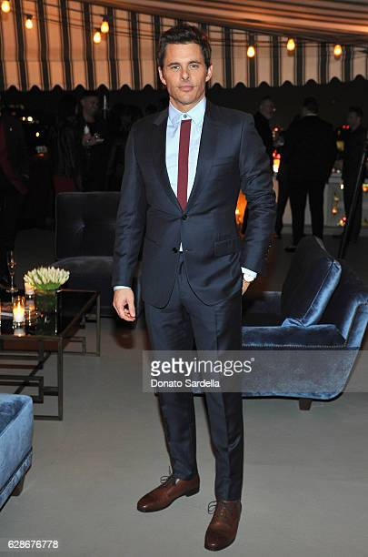 Actor James Marsden attends a private dinner hosted by GQ and Dior Homme in celebration of the 2016 GQ Men of The Year party at Chateau Marmont on...