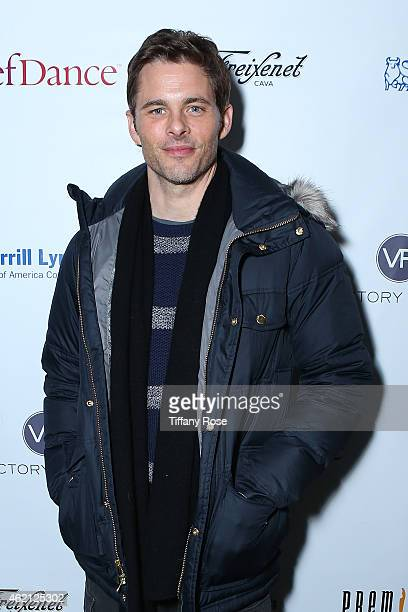 Actor James Marsden attends ChefDance 2015 Presented By Victory Ranch And Sponsored By Merrill Lynch, Freixenet And Anchor Distilling at Sundance...