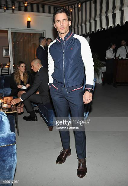 Actor James Marsden attends GQ And Dior Homme Private Dinner In Celebration Of GQ's 20th Anniversary Men Of The Year Party at Chateau Marmont Hotel...