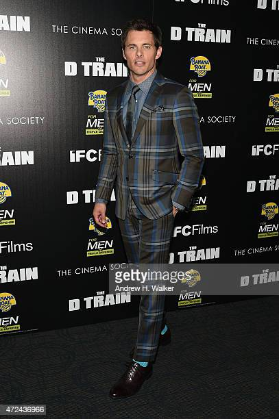 Actor James Marsden attends IFC's 'The D Train' New York premiere hosted by The Cinema Society and Banana Boat at Sunshine Landmark Cinema on May 6...