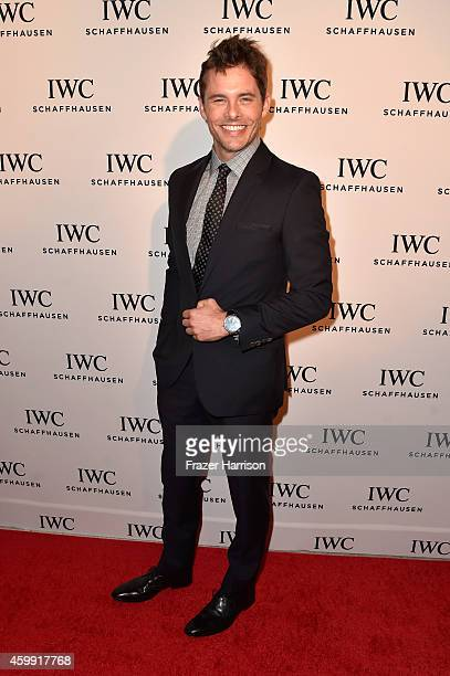 Actor James Marsden attends IWC Schaffhausen celebrates Timeless Portofino Gala Event during Art Basel Miami Beach to mark the Launch of the new...