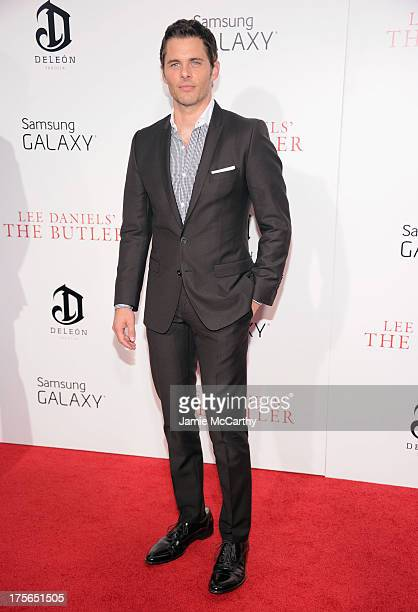 Actor James Marsden attends Lee Daniels' 'The Butler' New York Premiere at Ziegfeld Theater on August 5 2013 in New York City