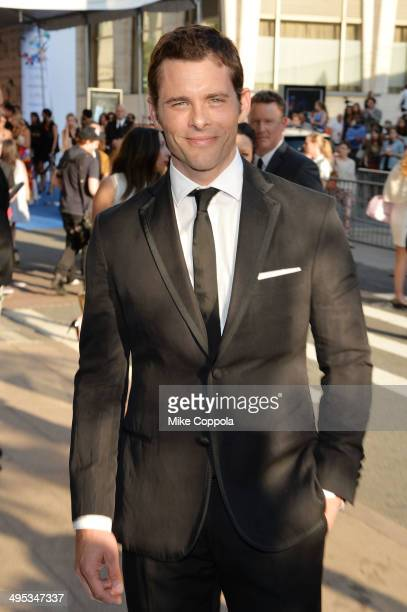 Actor James Marsden attends the 2014 CFDA fashion awards at Alice Tully Hall Lincoln Center on June 2 2014 in New York City