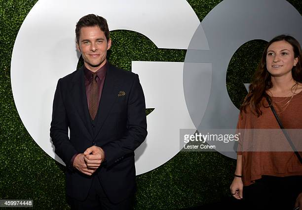 Actor James Marsden attends the 2014 GQ Men Of The Year party at Chateau Marmont on December 4 2014 in Los Angeles California